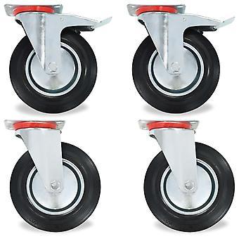 8 pcs. steering wheels 200 mm