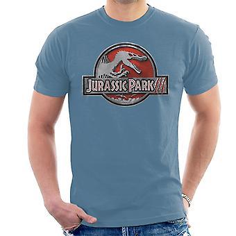 Jurassic Park III Spinosaurus klassische Logo Männer's T-Shirt