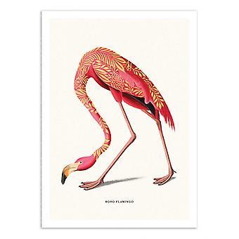 Art-Poster - Boho Flamingo - Jonas Loose