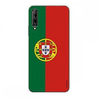 Hülle Für Huawei P Smart Pro Weich Silikon 1 Mm, Portugiesische Flagge