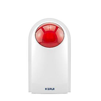 Wireless Flash Strobe Sirene, wasserdicht/Sicherheit Bugalr Alarm Sirene