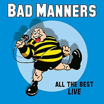 Bad Manners - All The Best Live [Vinyl] USA import
