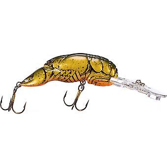 Rebel Wee Crawfish 1/5 oz Fishing Lure - Moss Crawfish