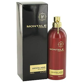 Montale Crystal Aoud Eau De Parfum Spray von Montale 3,3 oz Eau De Parfum Spray