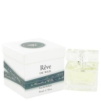 Reve De Weil Eau De Parfum Spray By Weil 1.7 oz Eau De Parfum Spray