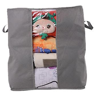 Clothes Blanket Portable Non-woven Folding Storage Box Organizer
