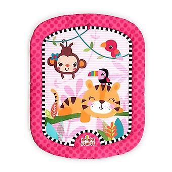Bright starts wild whimsy prop mat and tummy time