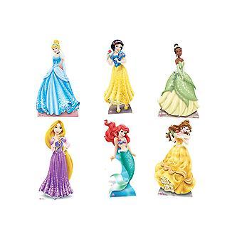 Disney Prinzessin offizielle Lifesize Karton Ausschnitte - Set von 6