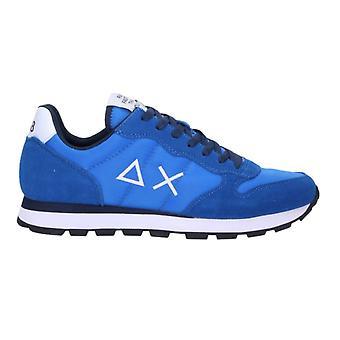 Running Sun68 Tom Solid Suede/ Nylon Blue Royal Us21su13 Z31101 Sneaker