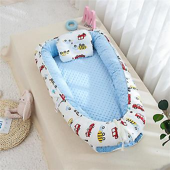 Portable Baby Nest, Removable Infant Bed, Cradle Cot, Washable, Travel Folding,