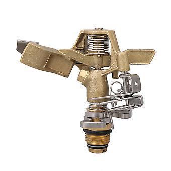 1/2Inch Impact Sprinkler w/ Nozzles Copper TY-8539 Spray Distance Sprinkler