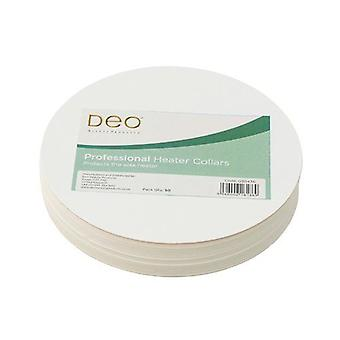 DEO Disposable Collars for 425g & 450g Wax Heaters - Cardboard - Pack of 50