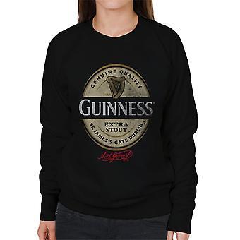 Logotipo de la etiqueta Guinness Stout Women's Sudadera