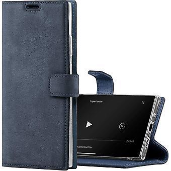 FengChun Handyhülle für S20 FE hülle Premium RFID Echt Lederhülle Schutzhülle mit Standfunktion -