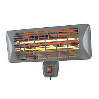 Eurom Q-time 2000- is an electric terrace heater from 2000 Watts. That's why it's great for warming up the cool summer evenings.