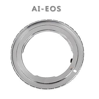 Ai-eos kamera konverzní kroužek vhodný pro nikon na kanon adaptér prsten ef-eos