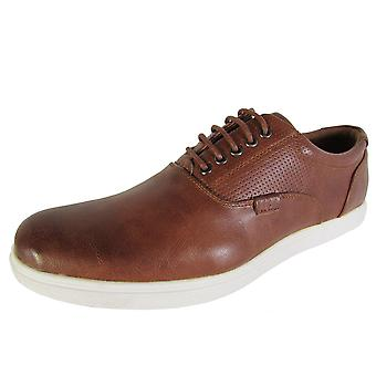 Madden by Steve Madden Mens M-Renly Lace Up Oxford Sneaker Shoes