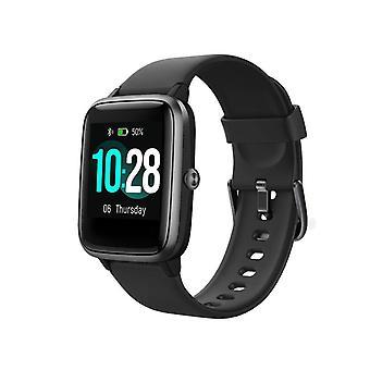 1,4 inch HD-scherm Slimme horloges Smart Watch BlueTooth 5.0 Blood Smart Watches (zwart)