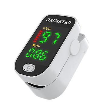 أبيض رقمي oximeter معدل ضربات القلب az5448