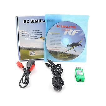 Rc Flight Simulator, Usb Wireless, Real Flight