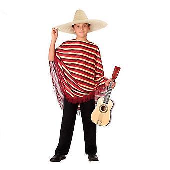 Traje para crianças mexicanas red (2 Pcs)