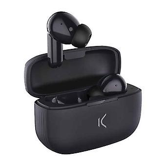 אוזניות Bluetooth KSIX אלחוטי שחור