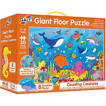 Counting Creatures Giant Floor Puzzle