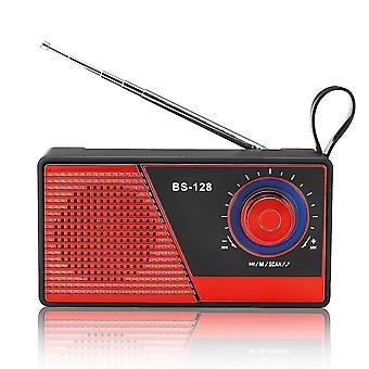 Draagbare Mini FM Radio bluetooth 4.2 draadloze luidspreker USB TF-kaartradioluidspreker