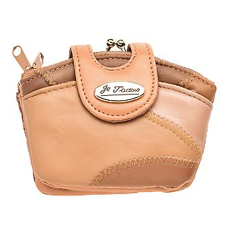 Ladies Small Patchwork Leather Coin Purse