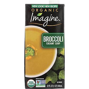 Imagine Soup Crmy Broccoli Org, Case of 12 X 32 Oz