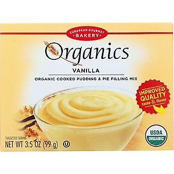 European Gourmet Bakery Mix Pudding Vanilla Org, Boîtier de 6 X 3,5 Oz