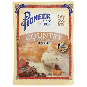 Pioneer Mix Gravy Cntry Sausage, Case of 24 X 2.75 Oz