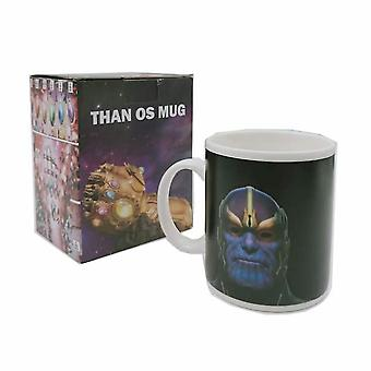 Thanos Infinite Gloves Modeling Mug Cup Thanos Diamond Double-sided Discoloration Ceramic Cup