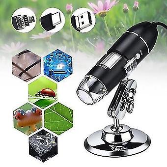 Digital Microscope 3 in 1 Port Type-C 1000x Magnification Portable High Definition USB Digital