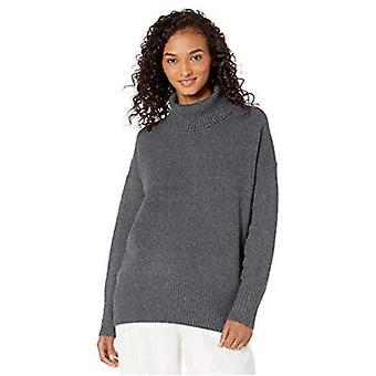 Marca - Daily Ritual Women's Cozy Boucle Turtleneck Sweater
