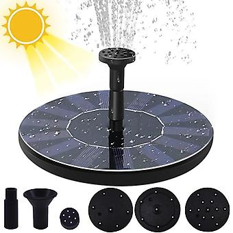 Solar Water Fountain Pool Pond