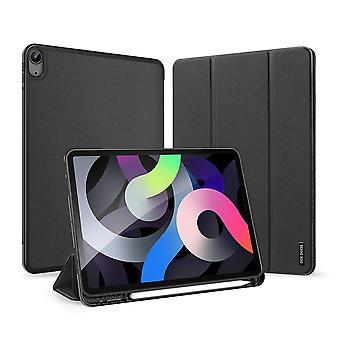 Case For Ipad Air 4 10.9 2020 Ultra Thin Smart Leather Cover Case With Pencil Holder & Auto Wake Up/sleep - Black