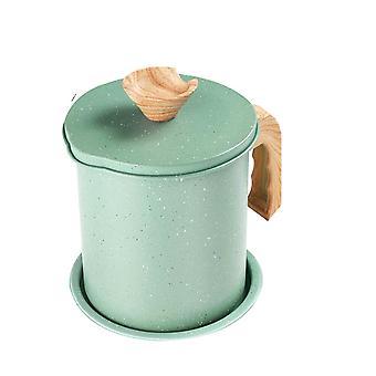 1 Pc Oil Filter Pot Oil Pot Stainless Steel Oil Pot Kitchen Oil Pot Stainless Steel Oil Can for