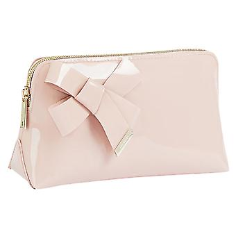Ted Baker Nicolai Knot Bow Makeup Unisex Bag in Pink