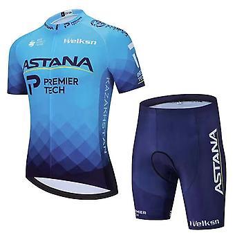 Cycling jersey set short sleeve men road bike mountain mtb pro team set bicycle cycle clothing