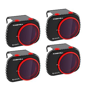 Freewell Bright Day - 4k Series - 4 Pack Filter