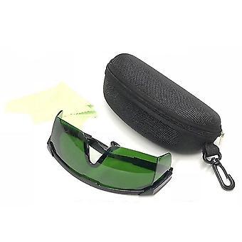 Protection laser Google Lunettes de sécurité oculaire et étui de protection