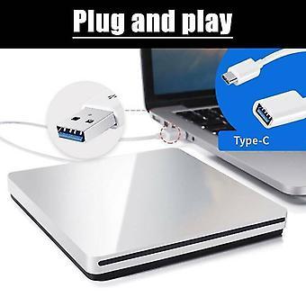 Externí slot USB v disku DVD CD Drive Burner Reader Writer pro notebook Macbook iMa