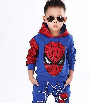Kinder Junge Spiderman Sportbekleidung Hoodie Sweatshirt Hose Anzug Anzug Kleidung