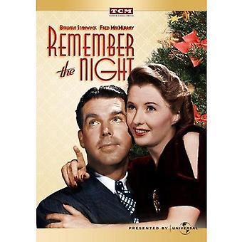 N'oubliez pas l'importation des USA de la nuit [DVD]