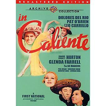 In Caliente (Remastered) [DVD] USA import
