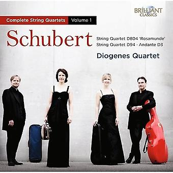 F. Schubert - Schubert: Complete String Quartets, Vol. 1 [CD] USA import