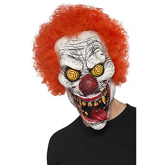 Clovn masca psiho Saw latex cu Wigs Horrorclown