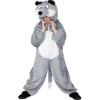 Wolfkostüm  KINDER Wolf Kostüm