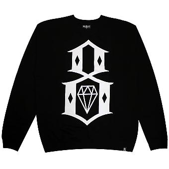 Rebel8 Standard Issue Logo Sweatshirt Black